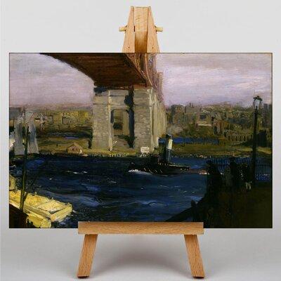 Big Box Art Blackwell Island Bridge by George Bellows Art Print on Canvas