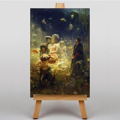 Big Box Art Sadko by Ilya Repin Barge Art Print on Canvas