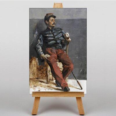 Big Box Art Seated by Ilya Repin Barge Art Print on Canvas