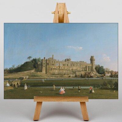 Big Box Art Warwick Castle by Giovanni Canaletto Art Print on Canvas