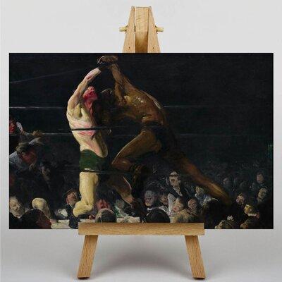 Big Box Art Boxing Match by George Bellows Art Print on Canvas