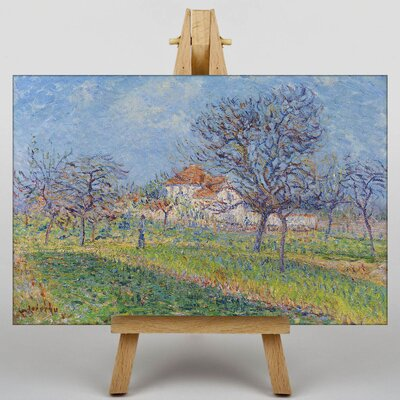 Big Box Art Gustave Loiseau Landscape No.4 by Gustave Caillebotte Art Print on Canvas