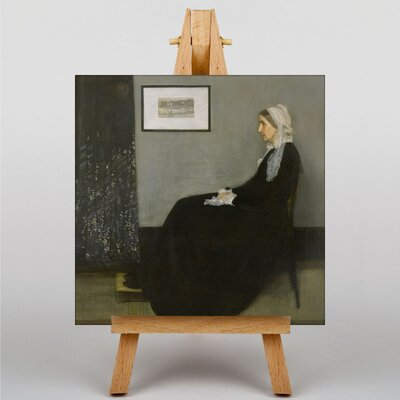 Big Box Art Artists Mother by James McNeill Whistler Art Print on Canvas