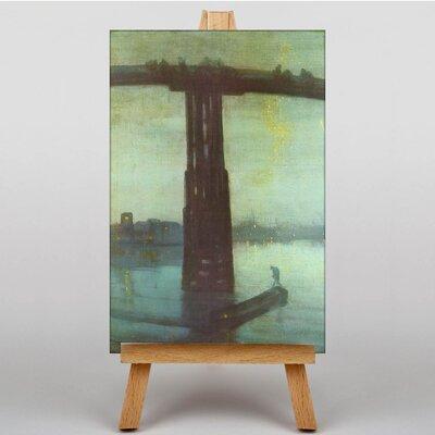 Big Box Art Battersea Bridge Nocturne by James McNeill Whistler Art Print on Canvas