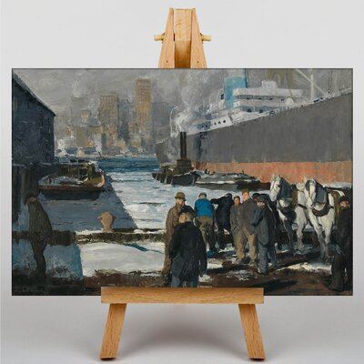 Big Box Art Men of the Docks by George Bellows Art Print on Canvas
