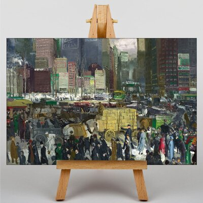 Big Box Art New York by George Bellows Art Print on Canvas