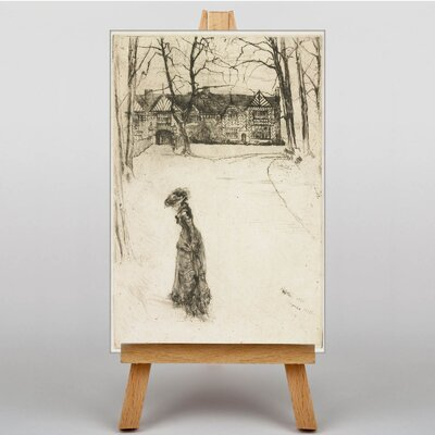 Big Box Art Lady in the Street by James McNeill Whistler Art Print on Canvas