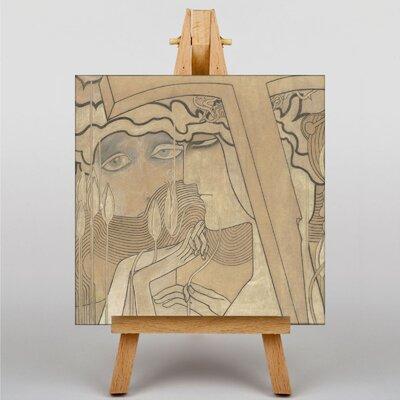 Big Box Art Desire and Satisfaction by Jan Toorop Art Print on Canvas