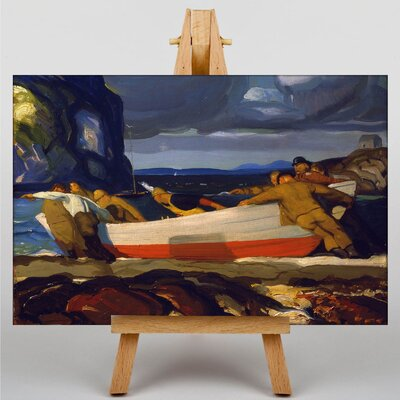 Big Box Art The Big Dory by George Bellows Art Print on Canvas