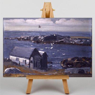 Big Box Art The Gulls, Monhegan by George Bellows Art Print on Canvas