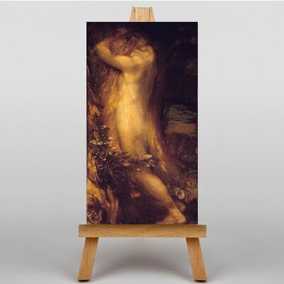 Big Box Art Eve Repentant by George Frederick Watts Art Print on Canvas