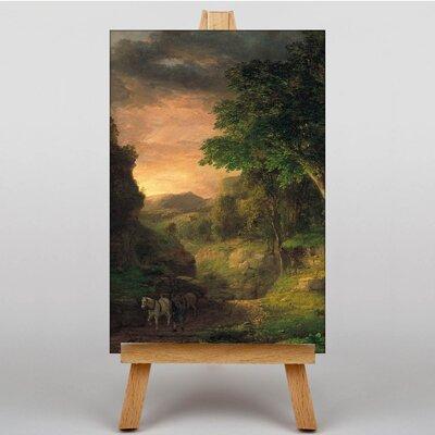 Big Box Art Innes In the Berkshires by George Innes Art Print on Canvas