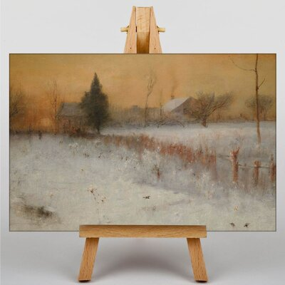 Big Box Art Landscape No.1 by George Innes Art Print on Canvas