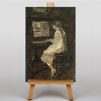 Big Box Art Girl at the Piano by Jacob Maris Art Print on Canvas