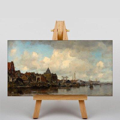 Big Box Art The Schreierstoren by Jacob Maris Art Print on Canvas