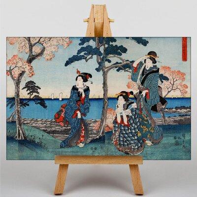 Big Box Art Japanese oriental No.2 by Hiroshige Graphic Art on Canvas