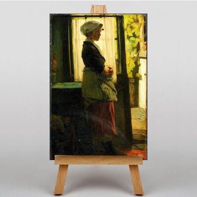 Big Box Art Oil by Jacob Maris Art Print on Canvas