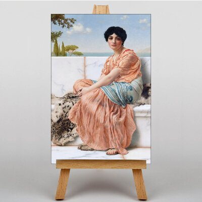 Big Box Art In the Days of the Sappho by John William Art Print on Canvas