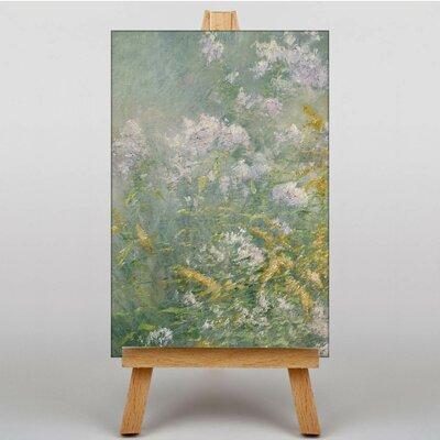 Big Box Art Twachtman Meadow Flowers by John Henry Art Print on Canvas