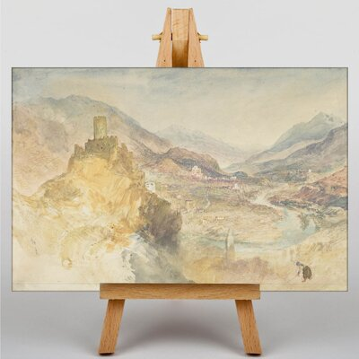 Big Box Art Chatel Argent by Joseph Mallord William Turner Art Print on Canvas