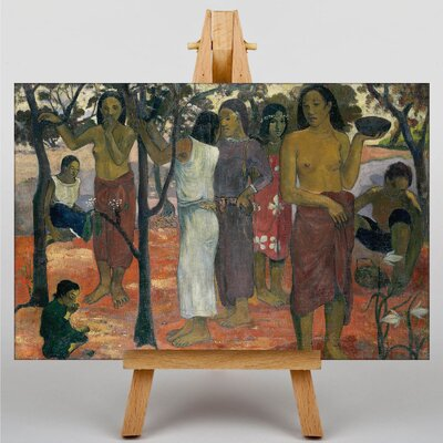 Big Box Art Nave Nave Mahana by Paul Gauguin Art Print on Canvas