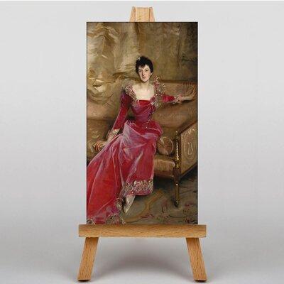 Big Box Art Sargent Mrs. Hugh Hammersley by John Singer Art Print on Canvas