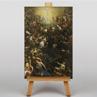 Big Box Art Last Judgement by Leandro Jacopo Bassano Art Print on Canvas