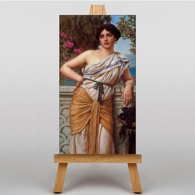 Big Box Art Godward Reverie by John William Art Print on Canvas