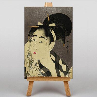 Big Box Art Vintage Japanese Oriental by Kitagawa Utamaro Art Print on Canvas