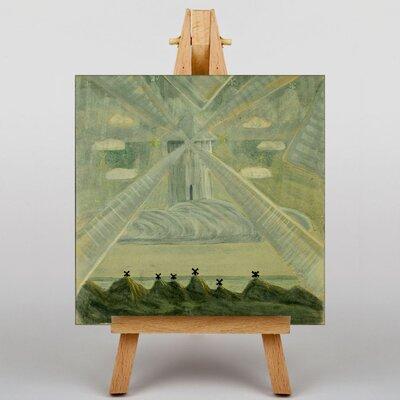 Big Box Art Ciurlionis Andante by Mikalojus Konstantinas Ciurlionis Art Print on Canvas