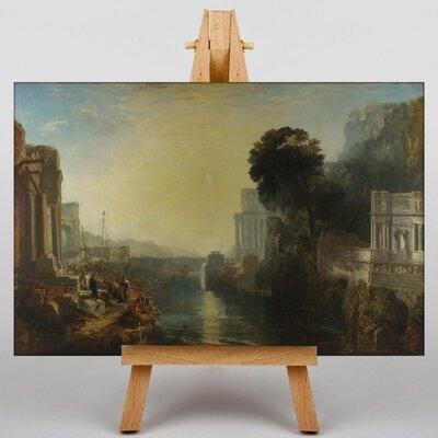 Big Box Art Dido Building Carthage by Joseph Mallord William Turner Art Print on Canvas