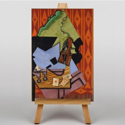 Big Box Art Violin by Juan Gris Art Print on Canvas