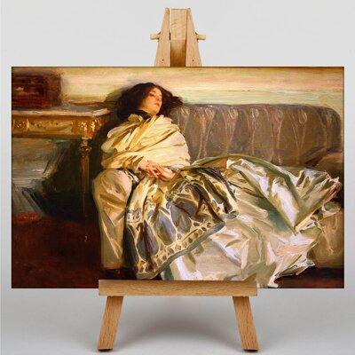 Big Box Art Repose by John Singer Sargent Art Print on Canvas