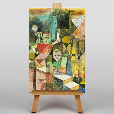 Big Box Art Introducing the Miracle by Paul Klee Art Print on Canvas