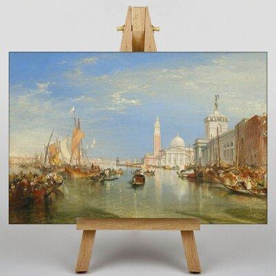 Big Box Art Joseph Mallord William Turner Dogana and the Santa Maria by Antonello da Messina Maria Art Print on Canvas