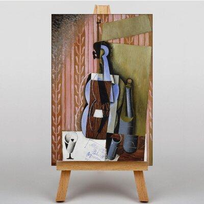 Big Box Art Violin by Juan Gris Art Print on Canvas