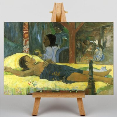 Big Box Art Te Tamari No Atua by Paul Gauguin Art Print on Canvas