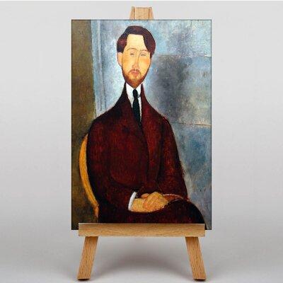 Big Box Art Portrait by Amedeo Modigliani Art Print on Canvas