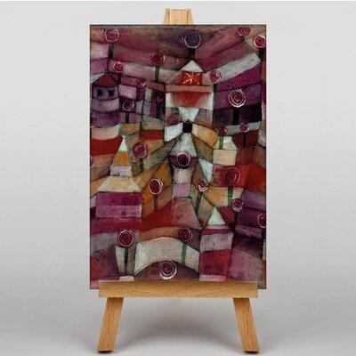 Big Box Art Rose Garden by Paul Klee Art Print on Canvas