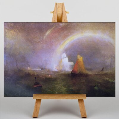 Big Box Art The Wreck Buoy by Joseph Mallord William Turner Art Print on Canvas