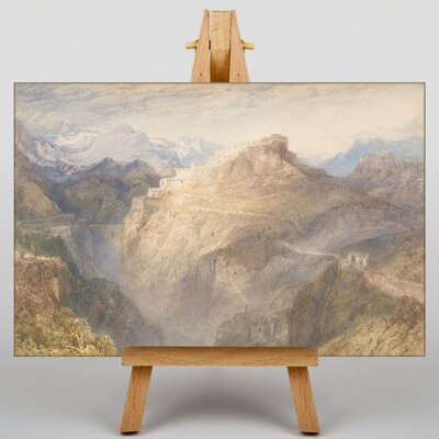Big Box Art Fort by Joseph Mallord William Turner Art Print on Canvas