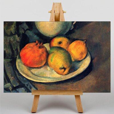 Big Box Art Still Life No.12 by Paul Cezanne Art Print on Canvas