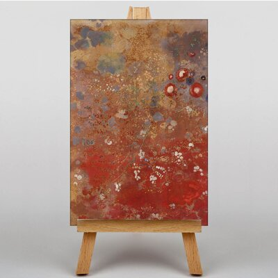 Big Box Art Rouge by Odilon Redon Art Print on Canvas