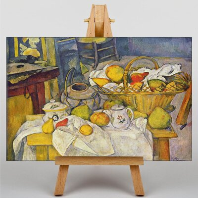 Big Box Art Still Life No.9 by Paul Cezanne Art Print on Canvas