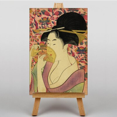 Big Box Art Vintage Japanese Oriental No.8 by Kitagawa Utamaro Art Print on Canvas