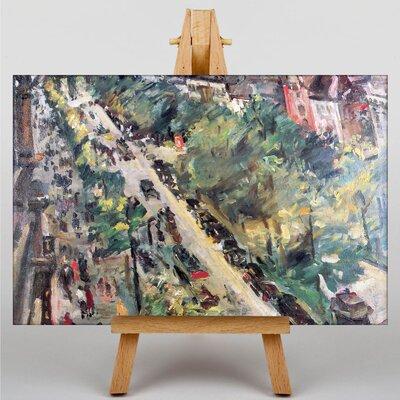 Big Box Art Among the Landscape by Lovis Corinth Art Print on Canvas