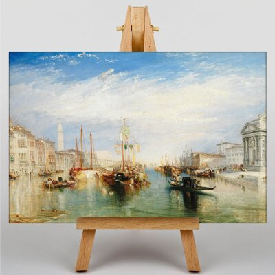 Big Box Art Venice from the Porch of Madonna by Joseph Mallord William Turner Art Print on Canvas
