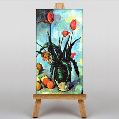 Big Box Art Still Life Flowers by Paul Cezanne Art Print on Canvas