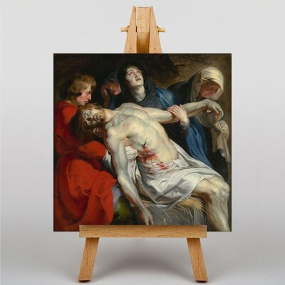 Big Box Art The Entombment by Peter Paul Rubens Art Print on Canvas