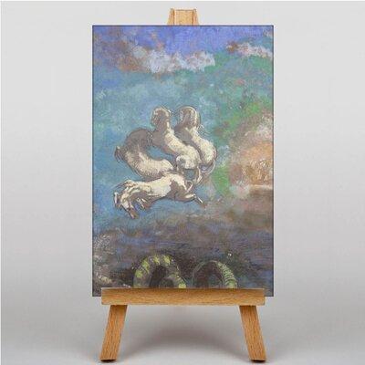 Big Box Art White Horses by Odilon Redon Art Print Art Print on Canvas